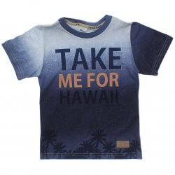 Camiseta Infantil Time Kids Take Me For Hawaii 31836