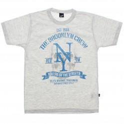 Camiseta Infanto Juvenil Elian Beats Brokklyn Crew 30808