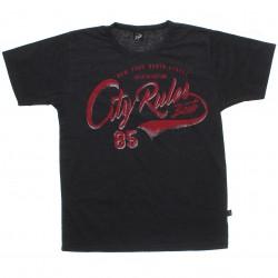 Camiseta Infanto Juvenil Elian Beats City Rules Mescla 30593