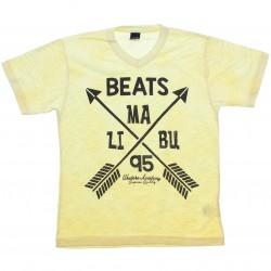 Camiseta Infanto Juvenil Elian Beats Flamê Malibu 30971