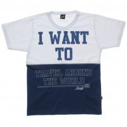 Camiseta Infanto Juvenil Elian Beats I want To 31592