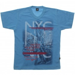 Camiseta Infanto Juvenil Elian Beats NYC Decote V 30806