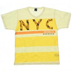 Camiseta Infanto Juvenil Elian Beats NYC Listras Decote V 30595