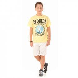 Camiseta Infanto Juvenil Livy Florida King Ocean 31818