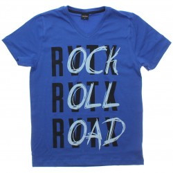 Camiseta Juvenil Rovitex Teen Decotre V Rock Roll 30616