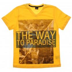 Camiseta Juvenil Rovitex Teen They Way Paradise 30615