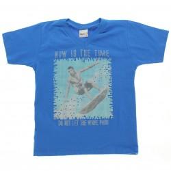 Camiseta Kaiani Infantil Menino Estampa Surfista 28957
