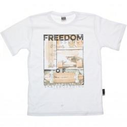 Camiseta Magic Boys Juvenil Estampa Freedom 30433
