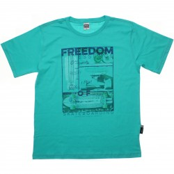 Camiseta Magic Boys Juvenil Estampa Freedom 30433