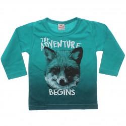 Camiseta Manga Longa Brandili Infantil Adventure 30955