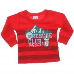 Camiseta Manga Longa Elian Bebê Infantil Rescue Club 30887