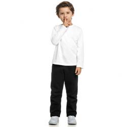 Camiseta Manga Longa Elian Infantil Lisa 1 ao 3 30896