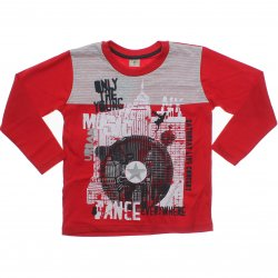 Camiseta Manga Longa Have Fun Infantil Free Music 31297