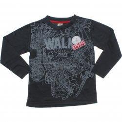 Camiseta Manga Longa Have Fun Infantil Walk Bordado 31339