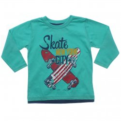 Camiseta Manga Longa Have Fun Menino Skate New York 31365