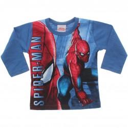 Camiseta Manga Longa Homem Aranha Flamê Estampada 31063