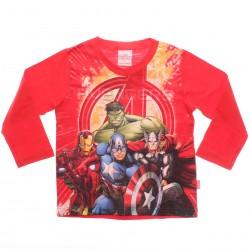 Camiseta Manga Longa Marvel Infantil Avengers Her�is 29336