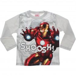 Camiseta Manga Longa Marvel Infantil Homem de Ferro 30931