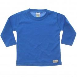 Camiseta Manga Longa Pulla Bulla Bebê Lisa Básica 29825
