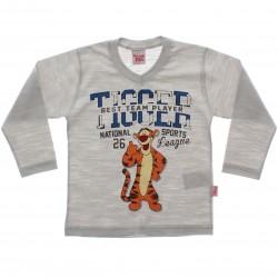 Camiseta Manga Longa Tigr�o Infantil Best Team 29355