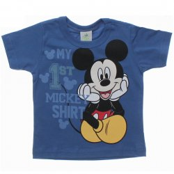 Camiseta Mickey Bebê My First T-Shirt 31444