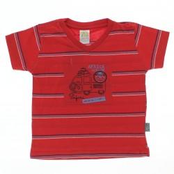 Camiseta Pulla Bulla Bebê Menino Listrada  Safari 28968