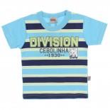 Camiseta Turma da M�nica Infantil Menino Division Cebolinha