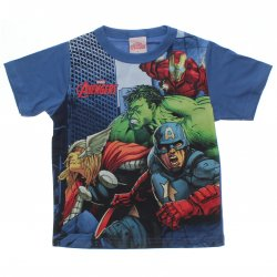 Camiseta Vingadores Marvel Infantil Personagens 31452
