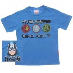 Camiseta Vingadores Marvel Infantil Who Am I Costas 29935