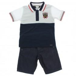 Conjunto Alakazoo Infantil Menino Polo Degradê 28839