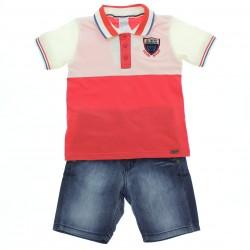 Conjunto Alakazoo Infantil Menino Polo Degrad� 28839