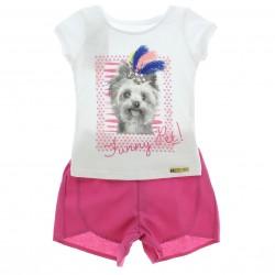 Conjunto Alakazoo Menina Funny Pet com Shorts 28866