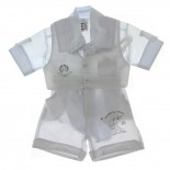 Conjunto Batizado Destaque Infantil Gravata Borboleta - 2293