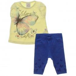 Conjunto Bebê Menina Time Kids Love Butterflies 31822