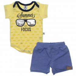Conjunto Bebê Menino Time Kids Body Summer Focus 31827