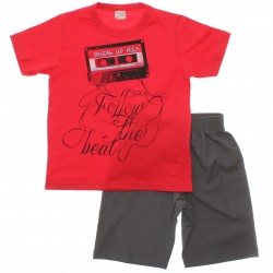 Conjunto Brandili Club Infantil Menino Follow The Beat 29943