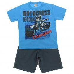 Conjunto Brandili Club Infantil Menino Motocross National
