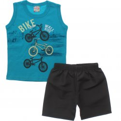 Conjunto Brandili Club Infantil Menino Regata Bike 31530