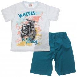 Conjunto Brandili Club Infantil Menino Wheels Moto 31561