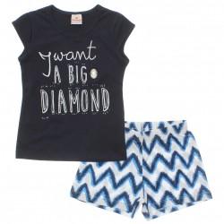 Conjunto Brandili Infantil Menina Big Diamond 29900