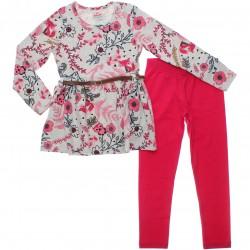 Conjunto Brandili Infantil Menina Legging Floral 30937