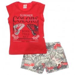 Conjunto Brandili Infantil Menina Summer Colors 29898