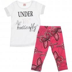 Conjunto Brandili Infantil Menina Under Butterfly 29968