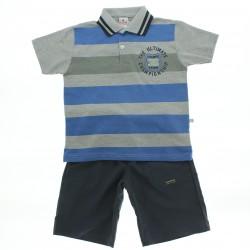 Conjunto Brandili Infantil Menino Polo Listrada - 28559