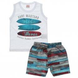Conjunto Brandili Infantil Menino Regata Surf Masters 31433