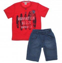 Conjunto Have Fun Infantil Menino Manhattan Jeans 31716