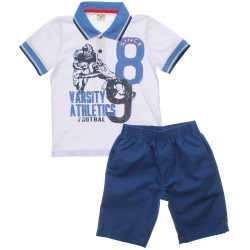 Conjunto Have Fun Infantil Menino Polo Athletic 30710