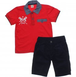 Conjunto Have Fun Infantil Menino Polo Estampa 1941 - 31717