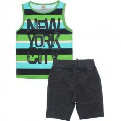 Conjunto Have Fun Infantil Menino Regata New York 31712