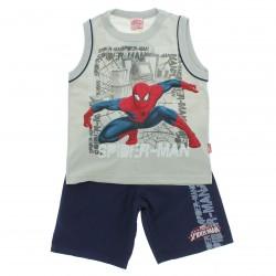 Conjunto Homem Aranha Infantil Menino Regata Spider